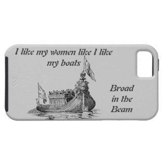 Broad beamed Egyptian boat iPhone SE/5/5s Case