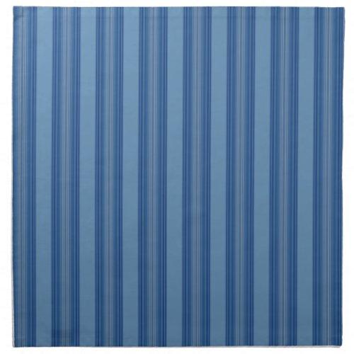 Broad Blue Stripe Napkins mojo_napkin