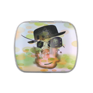 Broad Caramels Jelly Belly: Piratilla ghost Jelly Belly Tins