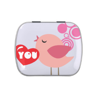 Broad De Caramelos Jelly Belly™ LOVE YOU GIFT Candy Tin