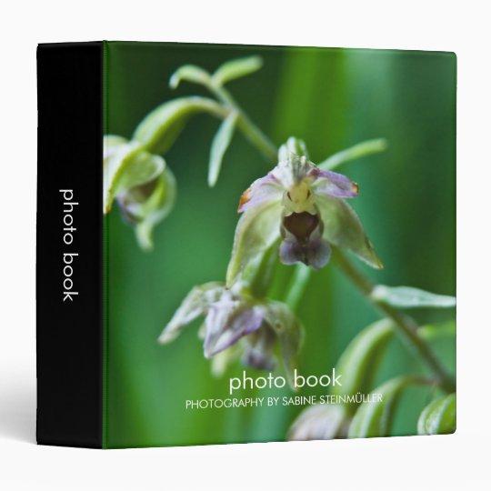 Broad-Leaved Helleborine Photo Book Binder