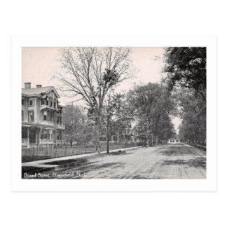 Broad St. Bloomfield NJ, 1910 Vintage Postcard