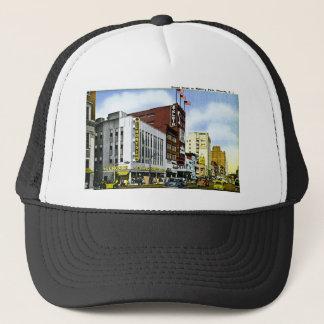 Broad Street at Military Park, Newark, New Jersey Trucker Hat
