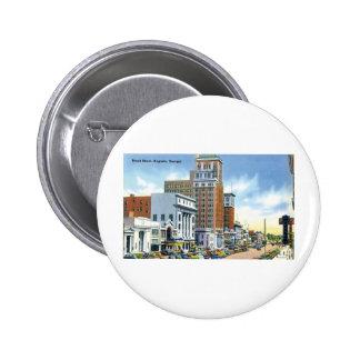 Broad Street, August, GA Pinback Buttons