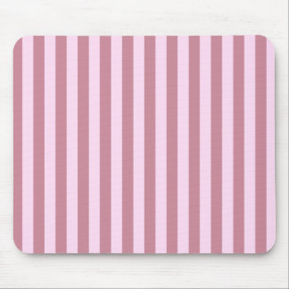 Broad Stripes -  - Pink Lace and Puce Mouse Pad