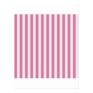 Broad Stripes -  - Pink Lace and Puce Postcard
