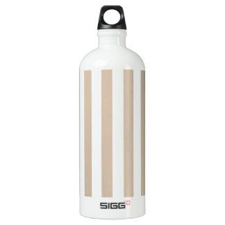 Broad Stripes - White and Dark Vanilla SIGG Traveler 1.0L Water Bottle