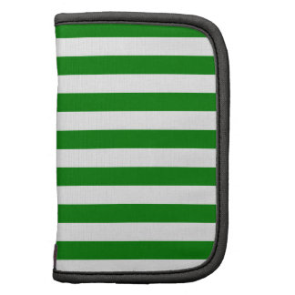 Broad Stripes - White and Green Organizer