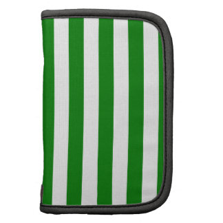 Broad Stripes - White and Green Planners