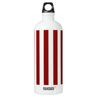 Broad Stripes - White and Maroon SIGG Traveler 1.0L Water Bottle