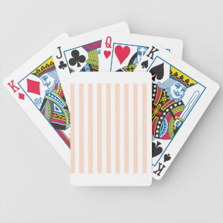 Broad Stripes - White and Unbleached Silk Card Decks