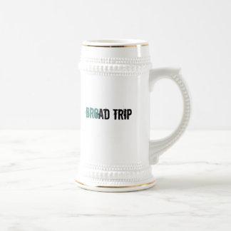 Broad Trip - i.e. B-road Trip Beer Stein
