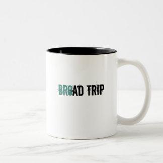 Broad Trip - i.e. B-road Trip Two-Tone Coffee Mug