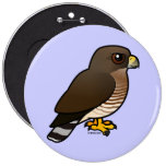 Broad-winged Hawk Buttons