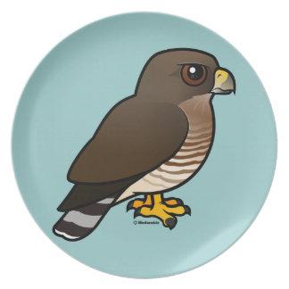 Broad-winged Hawk Dinner Plate