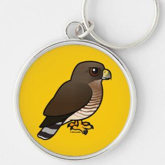 Broad-winged Hawk Keychain