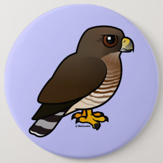 Broad-winged Hawk Pinback Button