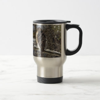 Broad-winged Hawk Travel Mug