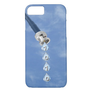 Broadband Cable Dripping Data iPhone 7 Case