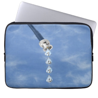 Broadband Cable Dripping DataLaptop Sleeve Laptop Sleeve