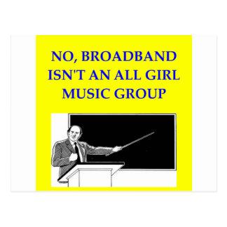 broadband postcard