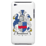 Broadbent Family Crest iPod Touch Cases