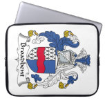 Broadbent Family Crest Laptop Computer Sleeves