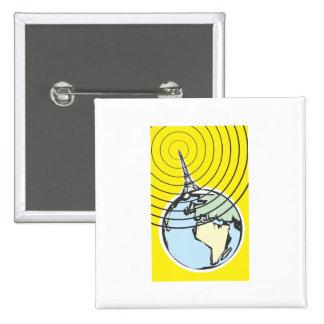 Broadcast Earth Button