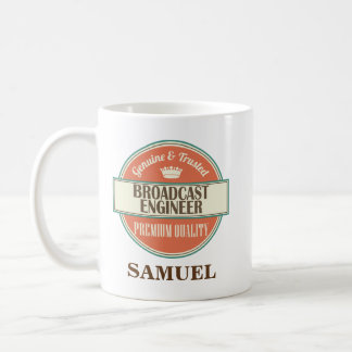Broadcast Engineer Personalized Office Mug Gift