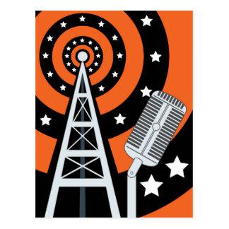 Broadcast Radio Postcard