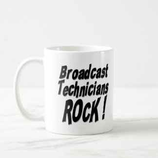 Broadcast Technicians Rock! Mug