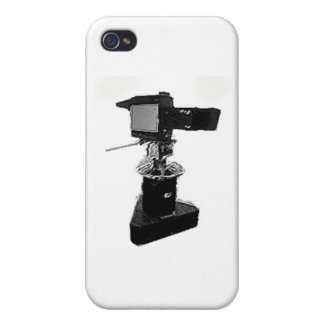 Broadcast TV Camera from 1970's or 1980's Case For iPhone 4