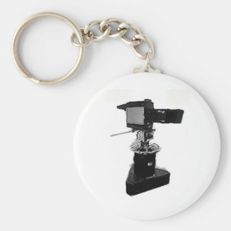 Broadcast TV Camera from 1970's or 1980's Keychain