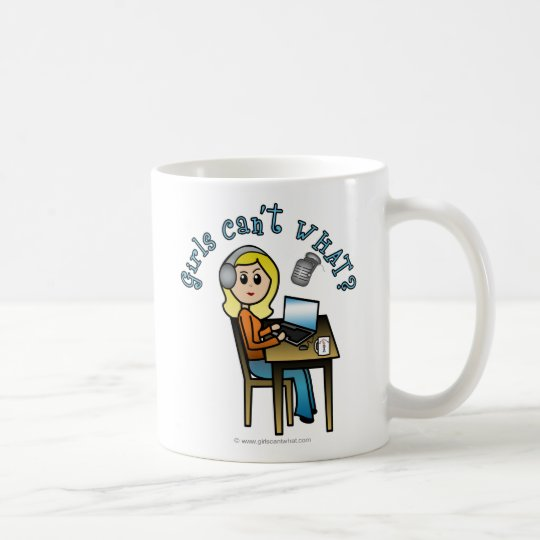 Broadcaster (Blonde) Coffee Mug