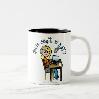 Broadcaster (Blonde) Mugs