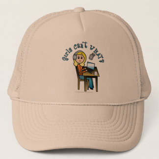 Broadcaster (Blonde) Trucker Hat