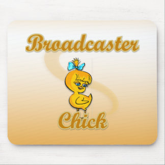 Broadcaster Chick Mouse Pad