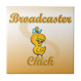 Broadcaster Chick Ceramic Tiles