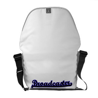 Broadcaster Classic Job Design Courier Bag