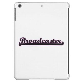 Broadcaster Classic Job Design iPad Air Covers