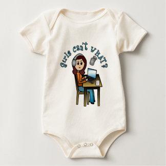 Broadcaster (Light) Baby Bodysuit