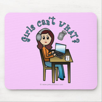 Broadcaster (Light) Mouse Pad