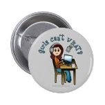 Broadcaster (Light) Pinback Button