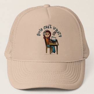 Broadcaster (Light) Trucker Hat