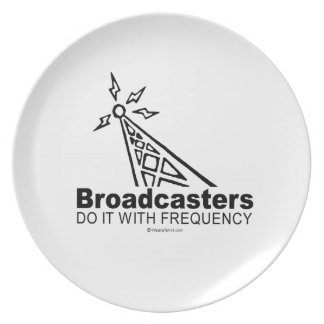 Broadcasters Plates