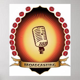 Broadcasting Mandorla Poster