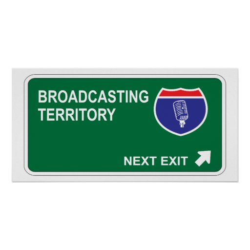 Broadcasting Next Exit Poster