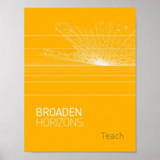 """""""Broaden"""" Poster"""