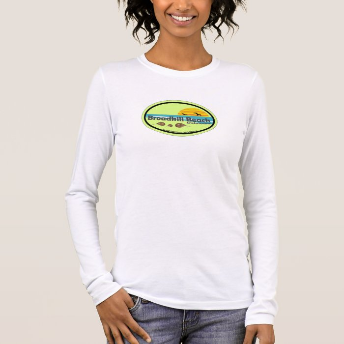 Broadkill Beach Delaware. Long Sleeve T-Shirt