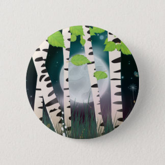 Broadleaved deciduous hardwood Birch Trees Button